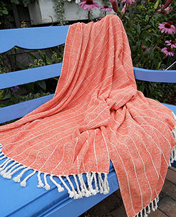 Cotton Chenille Throw
