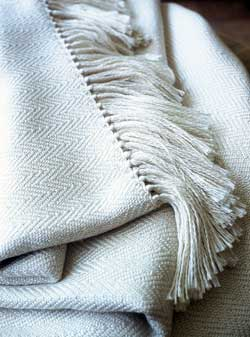 silk throw
